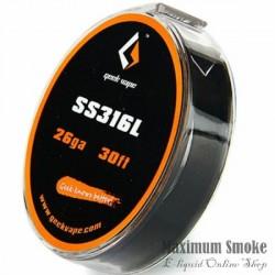 Geek Vape SS316L Ellenálláshuzal D: 0,4 mm 10m (18)
