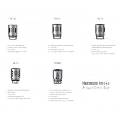 SMOK TFV8 V8-Q4 COIL 0,15 OHM