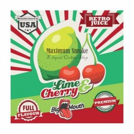 Big Mouth Lime & Cherry aroma koncentrátum, eliquid aroma