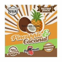 Big Mouth Pineapple & Coconut aroma koncentrátum, eliquid aroma