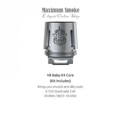 SMOK TFV8 V8 BABY-X4 COIL 0,15 OHM