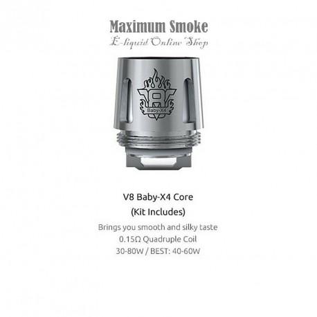 Smok TFV8 V8 Baby / Big Baby-X4 Coil 0,15 Ohm