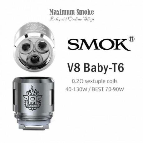 Smok TFV8 V8 Baby / Big Baby-T6 Coil 0,2 Ohm