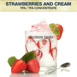 TPA Strawberries & Cream aroma, eliquid aroma