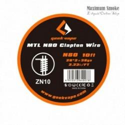 Geek Vape MTL N80 (NiCr) Clapton Ellenálláshuzal 3m (41)