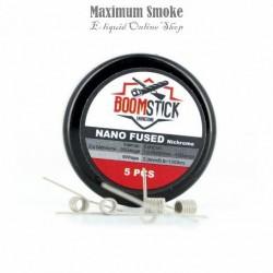 BoomStick Ni80 Nano Fused Coil 1,0 Ohm 5db (1)