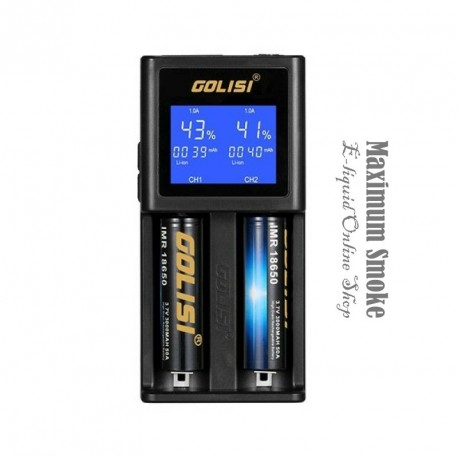Golisi S2 2.0A Smart Charger LCD Screen