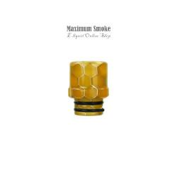 Wismec Drip Tip Orange Honeycomb