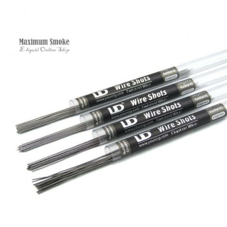 UD Kanthal A1 Twisted Wire D: 0,3mm 28GAx3 20db (37)