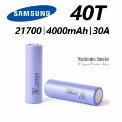Samsung INR21700 40T 4000mAh 25A Akkumulátor