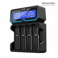 XTAR X4 4-slot Quick Charger LCD Screen