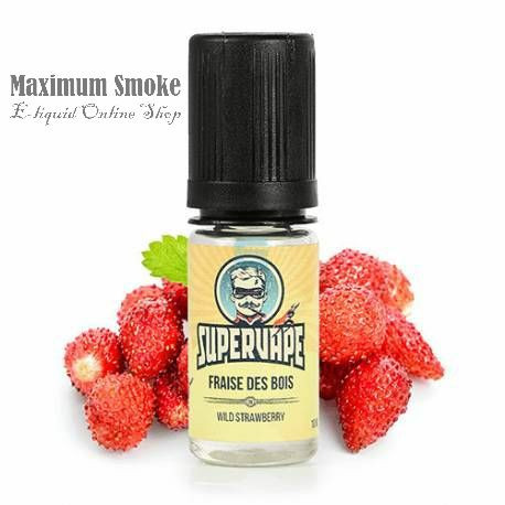 SuperVape Fraise des Bois (Vad szamóca) aroma, eliquid aroma