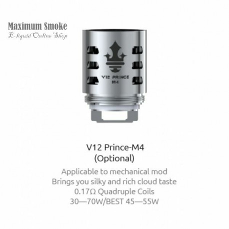 Smok TFV12 Prince - M4 Coil 0,17 Ohm