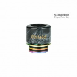 Shield Cig 810 Resin Drip Tip DL Black