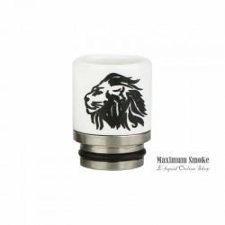 Ceramic 810 Drip Tip Lion