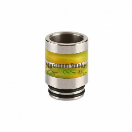 "Stainless Steel Resin Ring 810 Drip Tip DL ""E"""