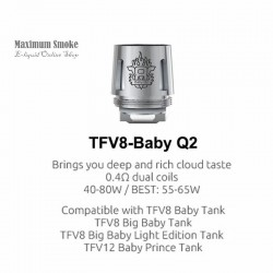 Smok TFV8 V8 Baby / Big Baby-Q2 Coil 0,6 Ohm