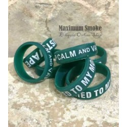Silicone Vape Band Green