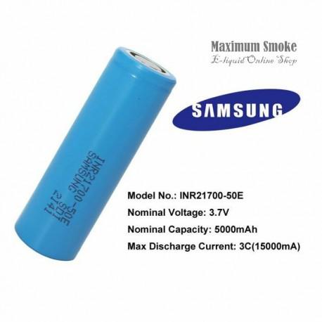 Samsung INR21700 50E 5000mAh 10A Akkumulátor