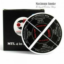 4in1 Coilology Ni80 MTL Coil 24db (92)