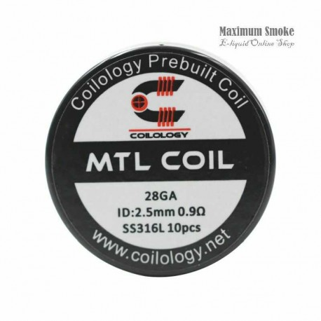Coilology SS316 MTL Coil 0,9 Ohm 10db (76)