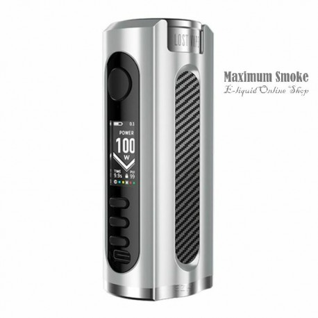Lost Vape Grus 100W TC MOD Silver-Carbon Fiber
