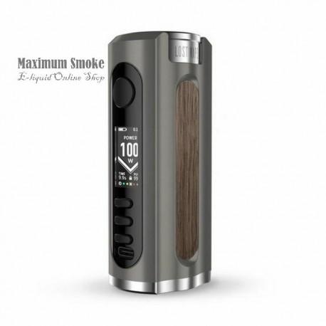 Lost Vape Grus 100W TC MOD Gunmetal-Walnut Wood