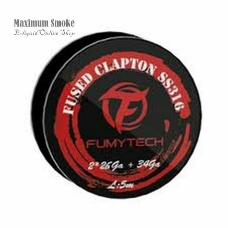 Fumytech Fused Clapton Wire SS316 MTL (72)